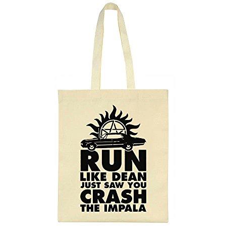 Just Run Dean Bag You Crash Like The Saw Tote Impala aEEwxqr6p