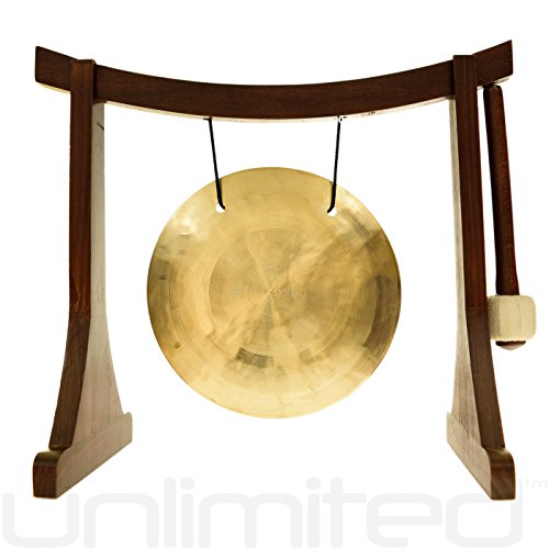 6'' to 7'' Gongs on the Lifting Buddha Stand by Unlimited