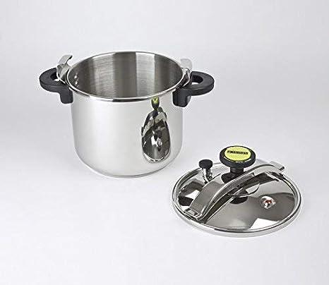 Monix Classica - Olla a presión tradicional de 8 litros, acero ...