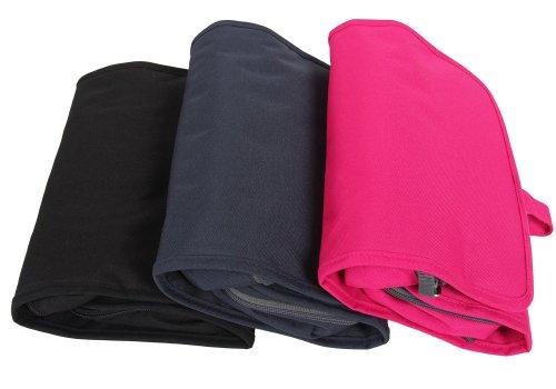 Leaper Waterproof Portable Cosmetic Bag / Toiletry Bag / Multi-use Travel Organizer (rose)