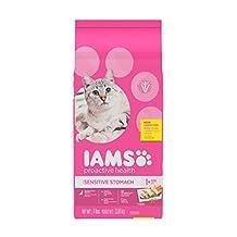 Iams Proactive Health Adult Digestive Care Dry Cat Food, 3.18 kg