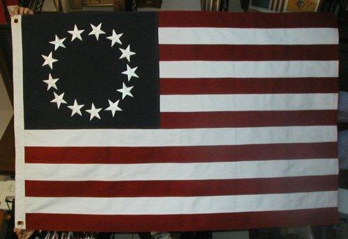 13 Star, American Revolution Betsy Ross ()