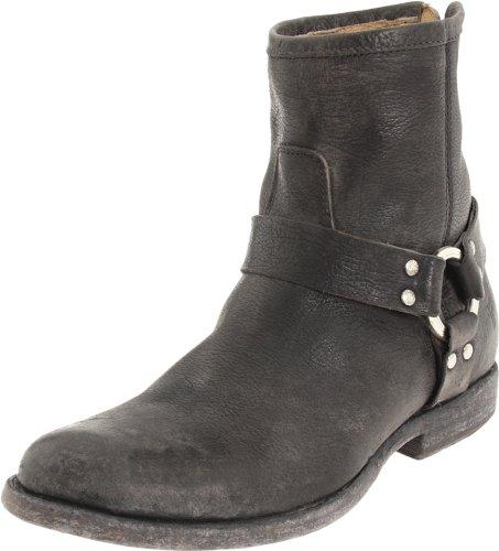 76871 Ankle Frye Stone Antique Harness Boot Women's Phillip Black q8tr87
