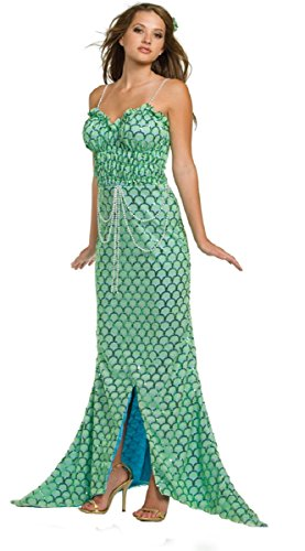 [Underwraps Women's Pearl of the Sea Mermaid Full Length Costume (X-Large)] (Sea Siren Sexy Costumes)