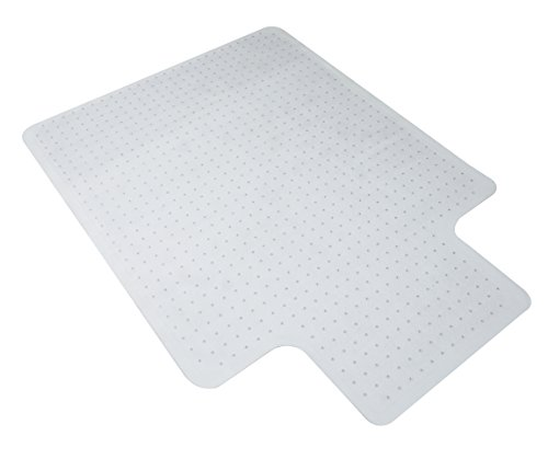 OFM Essentials Collection 36 x 48 Transparent Chair Mat with Lip for Carpet (ESS-8800C)