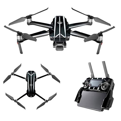 KUNAW Drone Accessories - Skin Waterproof Cover Protector Urban Camo Drone Decals for DJI Mavic 2 PRO/Zoom ()