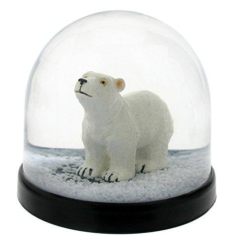 witzige (Sfera di alta qualità con palla di neve orso orsetto polare 8X Ø 8.5cm &Klevering 1031