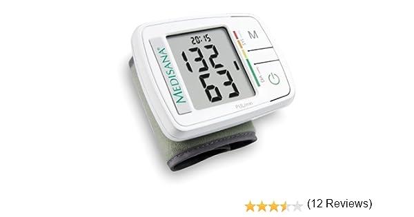 Medisana HGF - Tensiómetro de muñeca, con función semáforo: Amazon ...