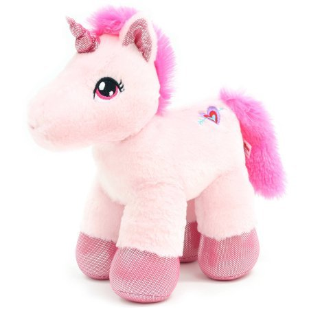 "Valentine's Day 11.5"" Unicorn Plush Toy"