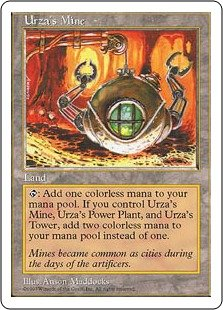 英語版 第5版 Fifth Edition 5ED ウルザの鉱山 Urza`s Mine マジック・ザ・ギャザリング mtg