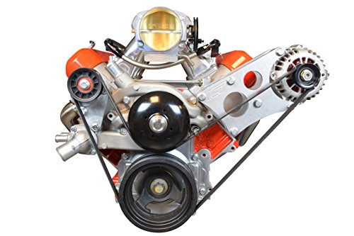 Corvette Alternator Bracket (LS Corvette Heavy Duty Billet Alternator Bracket Kit LSX LS1 5.7L Top Driver Head Mount, 551566-1)