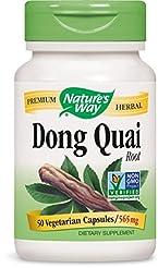 Nature's Way Dong Quai Root , 565 mg, 50...