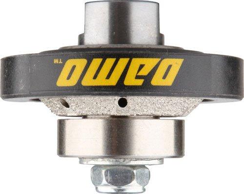 DAMO 3/16 inch Bevel Diamond Hand Profiler Router Bit with 5/8-11 Thread for Granite Concrete Marble Countertop Edge