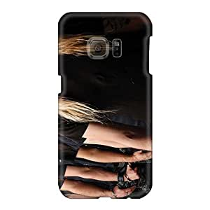 Shockproof Hard Phone Cover For Samsung Galaxy S6 (IBE5243VrVV) Allow Personal Design Realistic Dragonforce Band Image