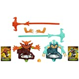 Beyblade Shogun Steel BeyWarriors Fire vs. Water Element 2-Pack