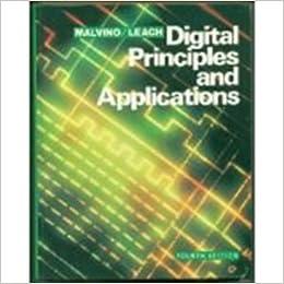 Digital principles and application albert paul malvino donald p digital principles and application albert paul malvino donald p leach 9780070398832 amazon books fandeluxe Gallery