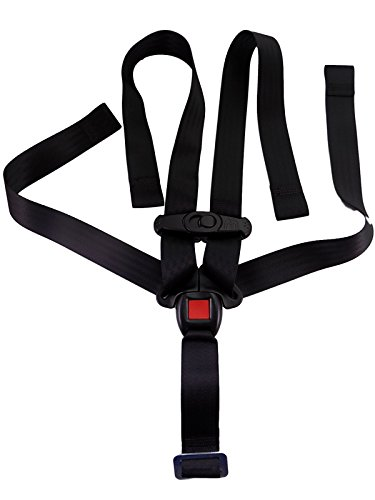 Chicco Nextfit Carseat Replacement Black 5 Pt Harness Straps