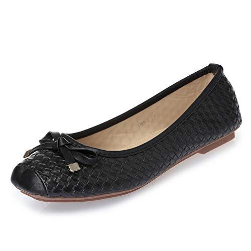 la creamy Zapatos Ballet white Zapatos de La Zapatos Sra FLYRCX de Manera Planos Trabajo de la Ocasional Suaves Boca de Baja los Inferiores de Zapatos Solo IxwSqYI1