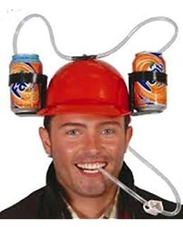 liquidazione a caldo ampia selezione di design miglior posto per Cappello Porta birre MUCCATO - elmetto per bibite: Amazon.it ...