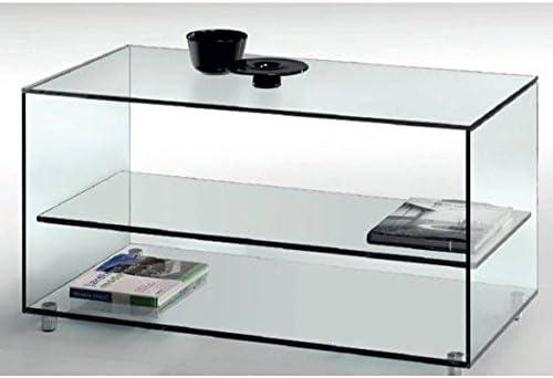Crespo Decoracion Mesa salón Cristal 105 x 55 Ref. FKATY: Amazon ...