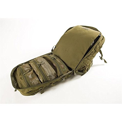 Military Outdoor Clothing Previously Issued Olive Drab Multi Pocket Medical Backpack