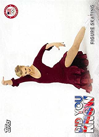 Amazon.com: 2018 Topps US Winter Olympics Did You Know? #