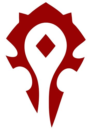 (spdecals World of Warcraft Horde Car Window Vinyl Decal Sticker (6