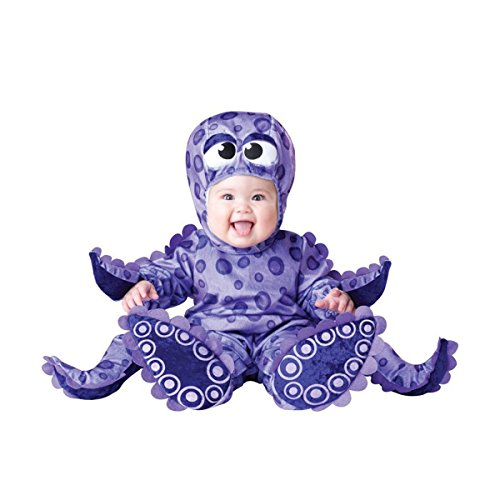 InCharacter Costumes Baby's Tiny Tentacles Octopus Costume, Purple, Large