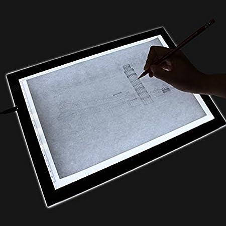 A2 Size LED Light Box Art Design Stencil Drawing Pattern
