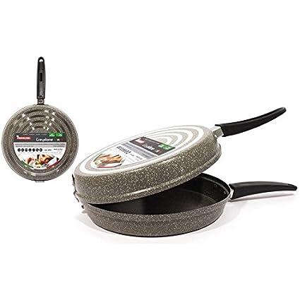 San Ignacio - Sartén Tortilla 28cm/1mm Greystone: Amazon.es: Hogar