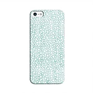 Cover It Up - Blue Pebbles Mosaic iPhone 5c Hard Case