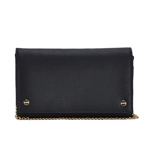 - Madison West Leah Clutch: Black - Taupe - White (Black)