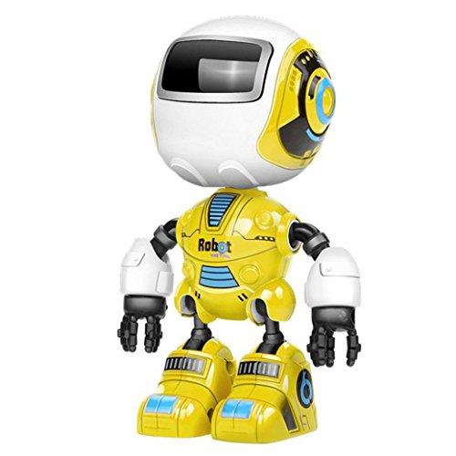 Wenjuan Kids Toy Gift Sensing Touch Multi-Function Music Smart Mini Alloy Robot