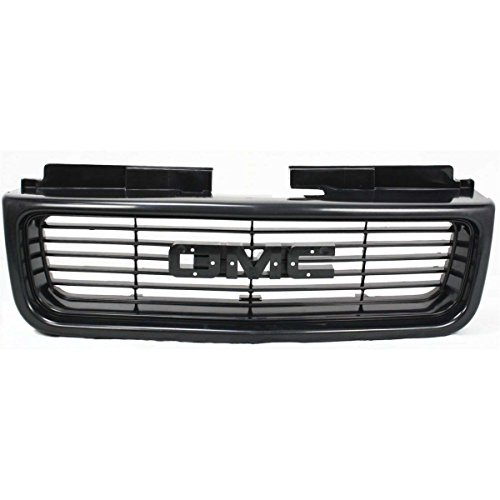New Front Grille For 1998-2005 GMC Jimmy And 1998-2004 GMC Sonoma Extured Black, Sl/Sls Model GM1200436