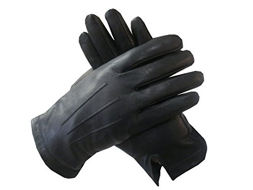 Isotoner Mens Leather Gloves,Nearly Invisible Smartouch T...