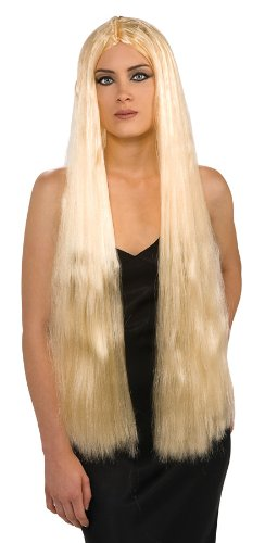 Rubies Costume Super Long Blond Witch Wig