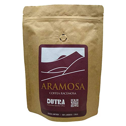 Café Dutra Raro e Exótico Torrado em Grãos Torra Média, Aramosa 250g