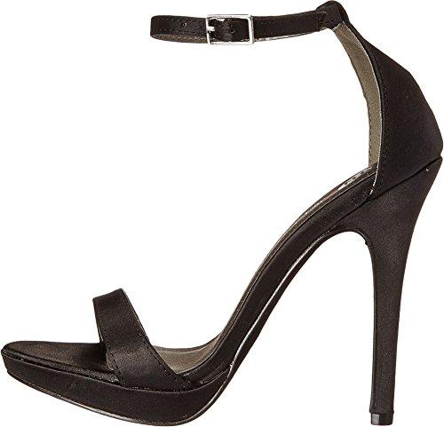 Michael Antonio Women's Lovina-SAT Platform Sandal,Black,8 M US