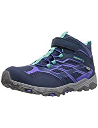 Merrell Girl's Ml-G Moab Mid Ac WTRPF Ankle Boot