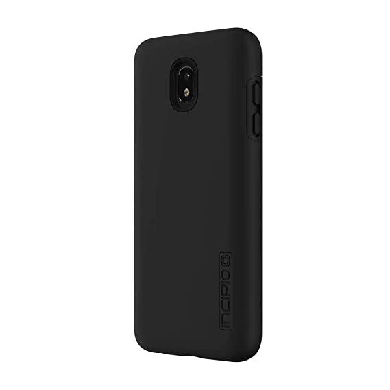 buy popular 2ff2b 252cf Incipio DualPro Samsung Galaxy J7 (2018) Case with Shock-Absorbing Inner  Core & Protective Outer Shell for Samsung Galaxy J7 (2018) - Black/Black