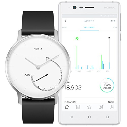 Nokia Steel – Activity & Sleep Watch, white by Nokia health (Image #2)