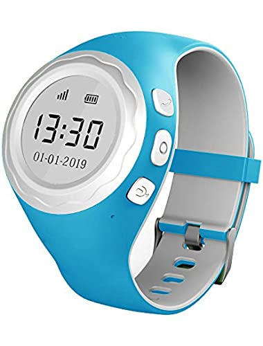 Pingonaut Children s Smart Watch Phone for Boys and Girls with Telephone Function  2019 Edition   Voice Messages  Two-Way Phone Calls  GPS Tracker  SOS