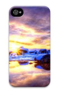 iphone 4S case awesome Winter Morning 3D Case for Apple iPhone 4/4S
