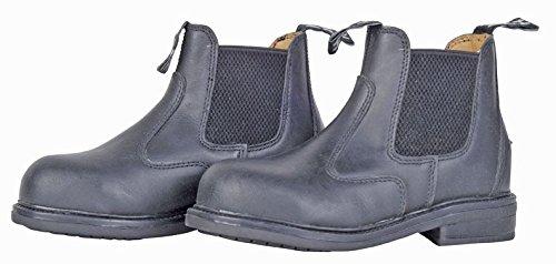 HKM Jodhpur botas con elástico y puntera negro Talla:Schuhgrösse 45 - negro
