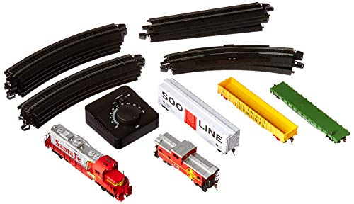 Train Set Santa - Walthers Trainline(R) HO Scale Ready-for-Fun Train Set - Santa Fe
