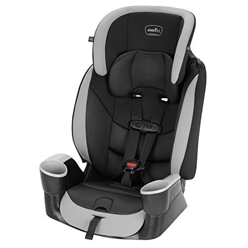 Evenflo Maestro Sport Harness Booster Car Seat, Granite (Convertible Car Seat Cosco)