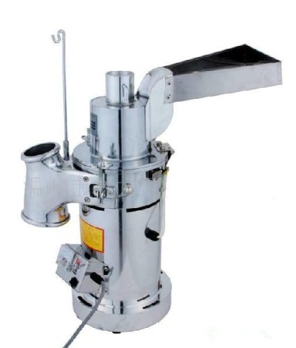 Automatic continuous Hammer Mill Herb Grinder,pulverizer machine,20KG per hour by Unknown