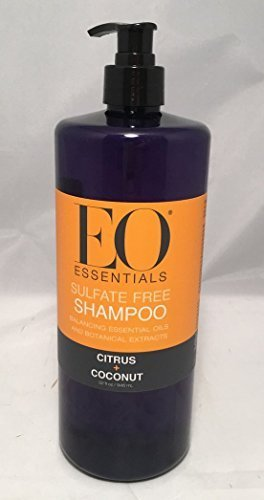 EO Essentials Sulfate Free Shampoo Citrus + Coconut 32 oz