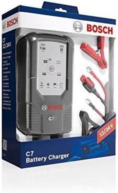 Cargador automático de batería Bosch C7 para 12-24 V / 7 A