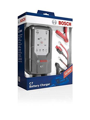 Bosch C7 Cargador 12/24 voltios Coche, Moto, camión - Carga ...